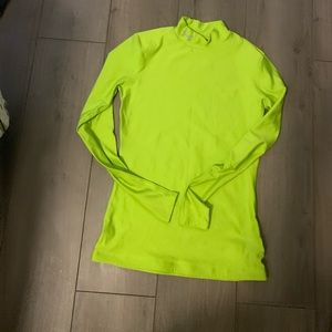 Under Armour Neon Green Compression Shirt